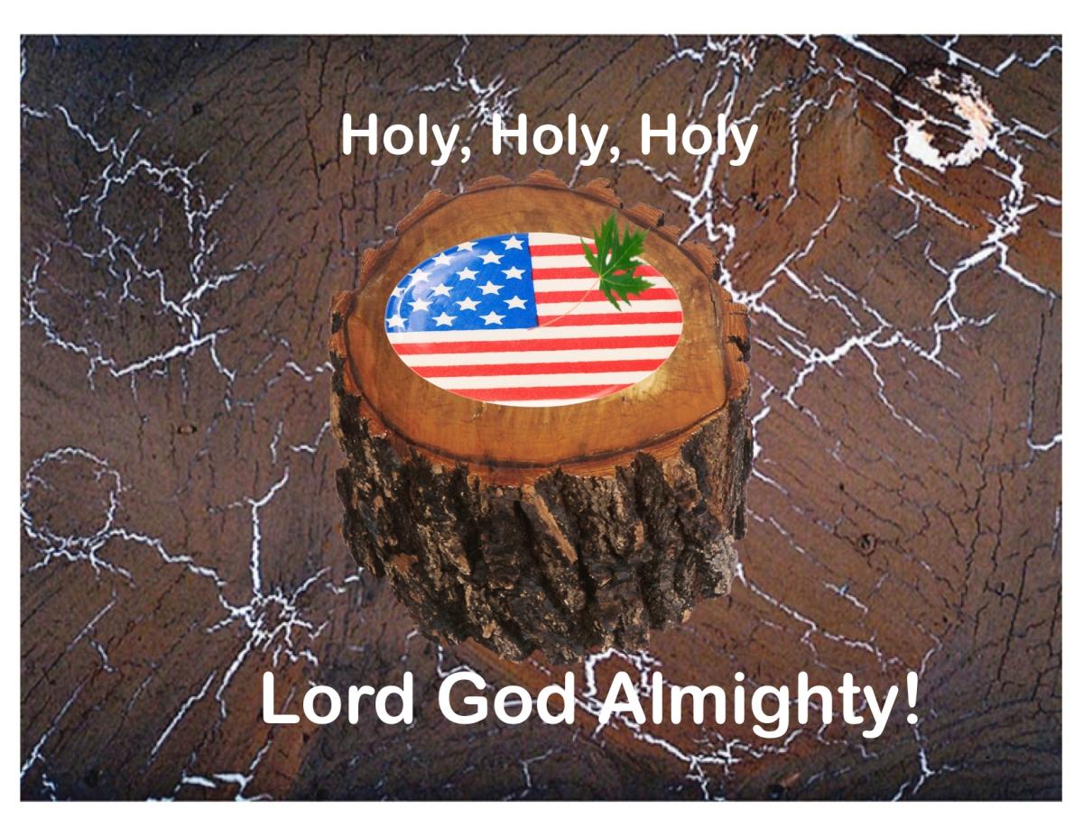 Holy, Holy, Holy(America?)