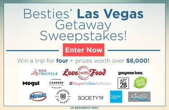 LAS VEGAS GIVEAWAY! (AND IT IS HEALTHY)